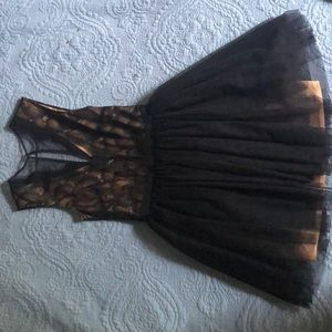 Black Bebe Lace Tutu Dress!